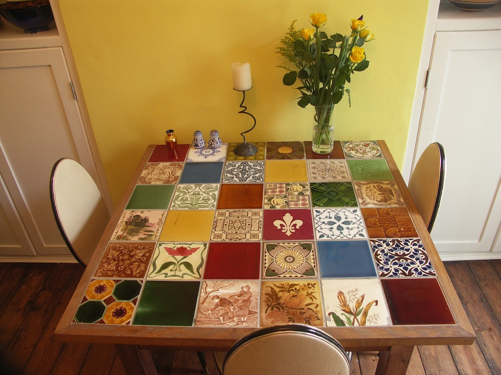 Commercial Street Tiled Table The Ceramic House
