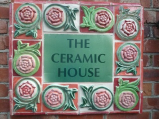 The Ceramic House sign resized