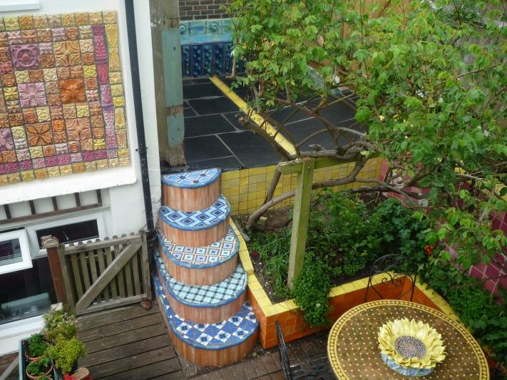 Ceramic House garden