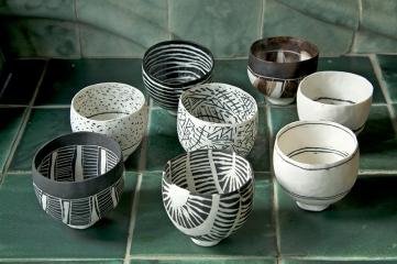 Priscilla Mouritzen pinch bowls