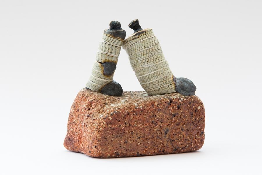10. Animate Object Series, (2015). 15cm x 15cm x 9cm. Stoneware fired Ceramic. Artist, Owen Quinlan. Photographer Credit, Kelvin Gilmore.