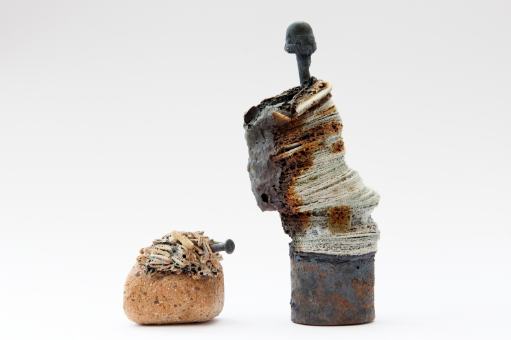 14. Animate Object Series, (2014). 20cm x 23cm. Stoneware fired Ceramic. Artist, Owen Quinlan. Photographer Credit, Kelvin Gilmore.