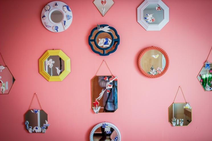 JUNG EUN HAN, installation, ceramic, 2016