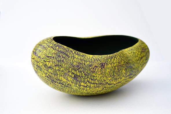 Sang Woo Kim, Spring, Stoneware, porcelain, pigment, 31x25x17cm, 2016