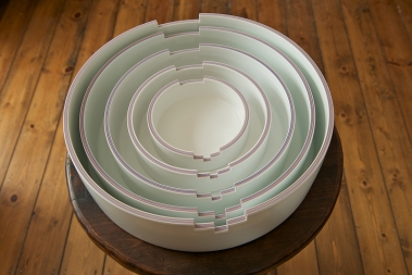 Minsoo Lee, Cylinders, Porcelain