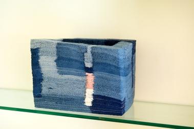 Jong Jin Park Artistic Stratum blue