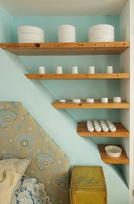 Loft Room Shelves